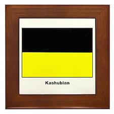 Kashubian Ethnic Flag Framed Tile