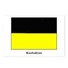 Kashubian Ethnic Flag Postcards (Package of 8)
