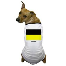 Kashubian Ethnic Flag Dog T-Shirt
