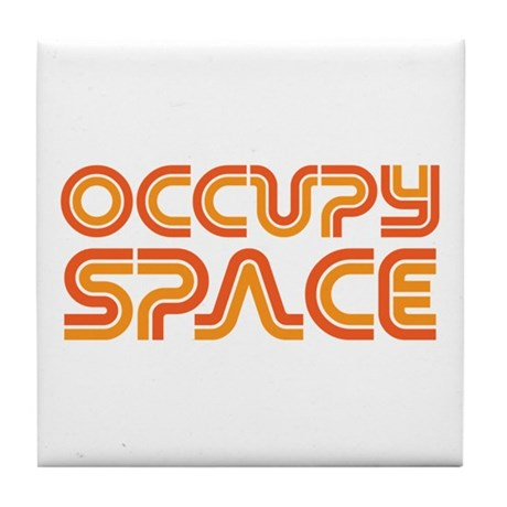 Occupy Space Tile Coaster