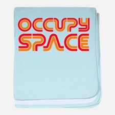 Occupy Space baby blanket