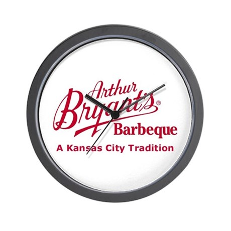 Arthur Bryant's Barbeque Wall Clock