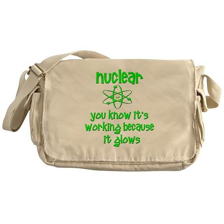Funny Nuclear Nuke Messenger Bag