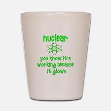 Funny Nuclear Nuke Shot Glass