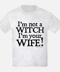 Witch Wife Princess Bride Kids T-Shirt