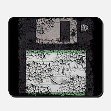 Worn, Floppy Disk Mousepad