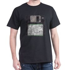 Worn, Floppy Disk T-Shirt