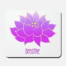 Breathe Lotus Mousepad