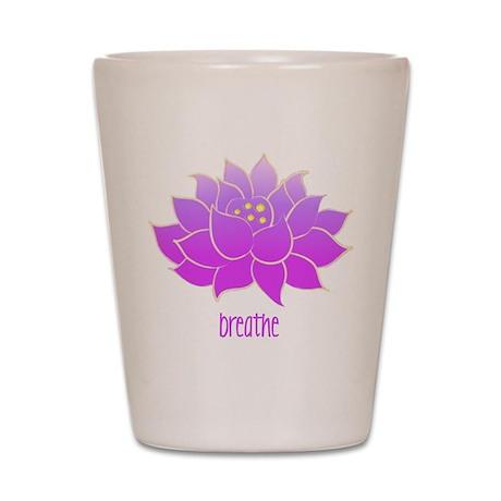 Breathe Lotus Shot Glass