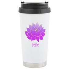 Breathe Lotus Travel Mug