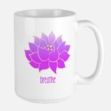 Breathe Lotus Mug