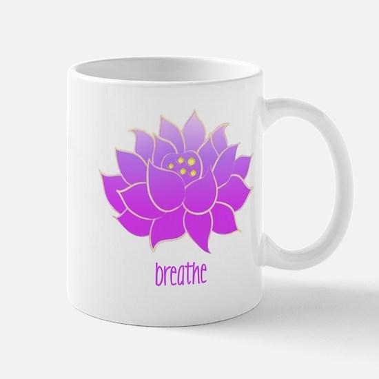 Breathe Lotus Mug