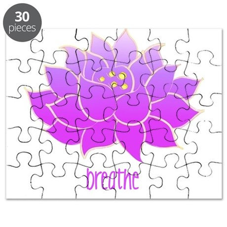 Breathe Lotus Puzzle