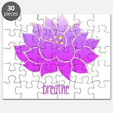 Breathe Lotus Puzzle