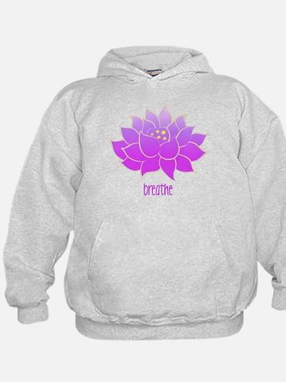 Breathe Lotus Hoodie