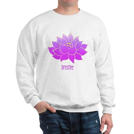 Breathe Lotus Sweatshirt
