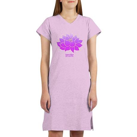 Breathe Lotus Women's Nightshirt