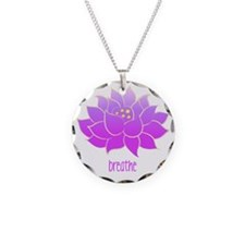 Breathe Lotus Necklace