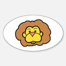 Cute Lion Decal