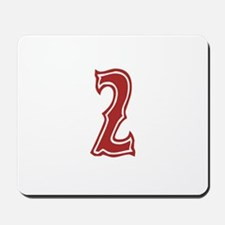 Red Sox White #2 Mousepad