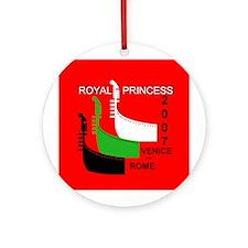 Royal Venice - Rome LOGO- Ornament (Round)
