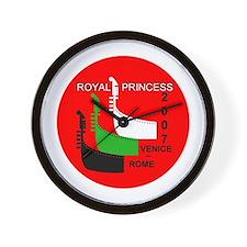 Royal Venice - Rome LOGO- Wall Clock