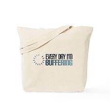 BUFFERING Tote Bag