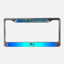 Egyptian Eye License Plate Frame