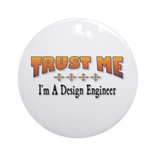 Trust D. Engineer Ornament (Round)