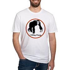 ape flings poo Shirt