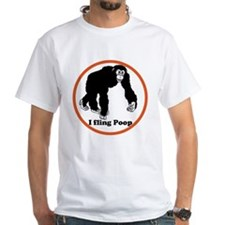 ape flings poo Shirt