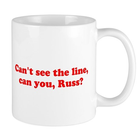 Can't see the Line Mug