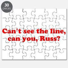 Can't see the Line Puzzle