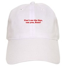 Can't see the Line Baseball Cap