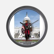Obama Super Hero Wall Clock