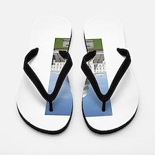 Obama Super Hero Flip Flops