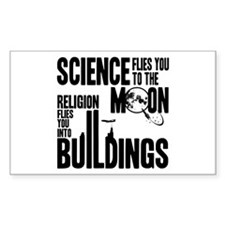Science Vs. Religion Stickers