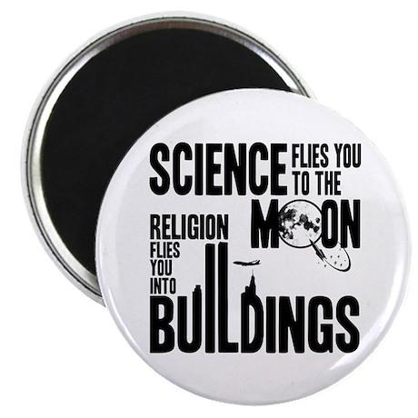 Science Vs. Religion Magnet