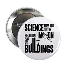 "Science Vs. Religion 2.25"" Button"
