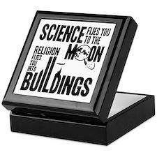 Science Vs. Religion Keepsake Box