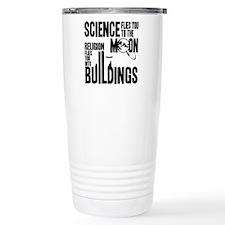 Science Vs. Religion Travel Coffee Mug