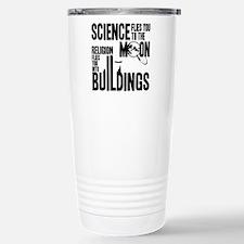 Science Vs. Religion Travel Mug