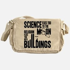 Science Vs. Religion Messenger Bag