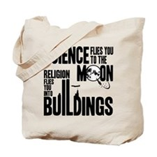 Science Vs. Religion Tote Bag