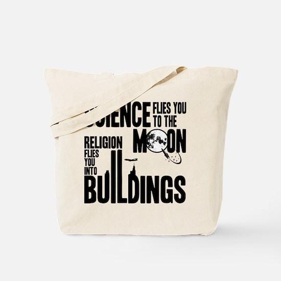 Science Vs. Religion Tote Bag