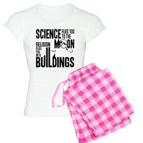 Science Vs. Religion Women's Light Pajamas
