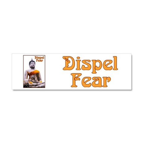 Buddha Dispels Fear Car Magnet 10 x 3