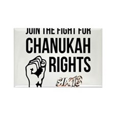Chanukah Rights Rectangle Magnet