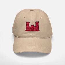Engineer Branch Insignia - Red Baseball Baseball Cap
