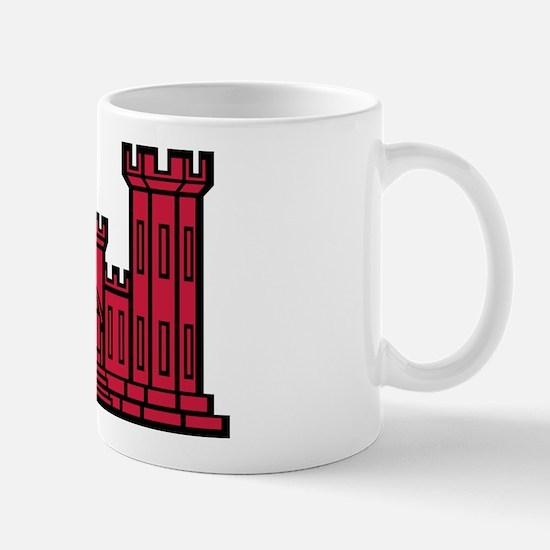 Engineer Branch Insignia - Red Mug